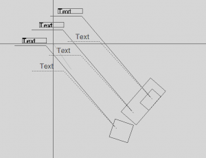 Autocad Stretch, stretching.