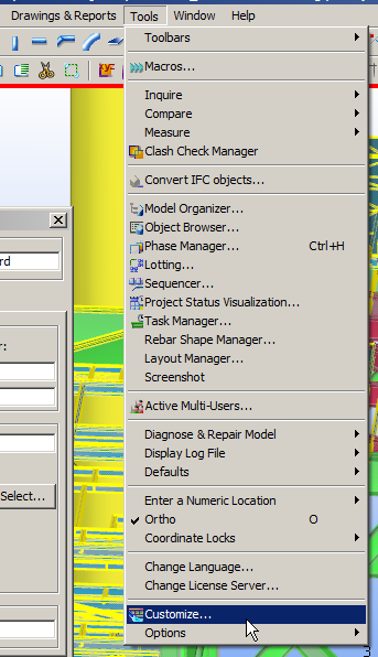 Tekla Structures Hot Keys and shortcuts - CadSupport
