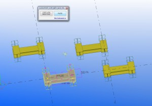 Tekla Structures Open API macro script:  Copy with base point