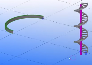 генератор сложных кривых поверхностей для Tekla Structures