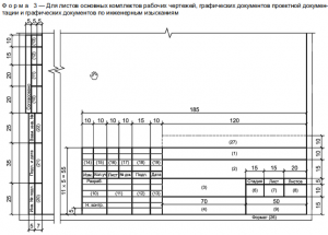 Форма 3 по ГОСТ Р 21.1101-2013