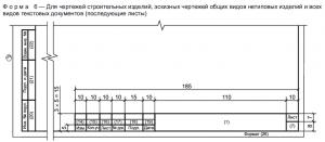 Форма 6 по ГОСТ Р 21.1101-2013