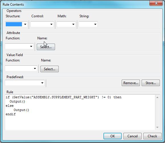 Tekla_strucutres-Template_editor-Row-rule